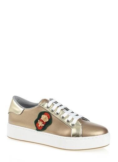 Derigo Sneaker Ayakkabı Altın